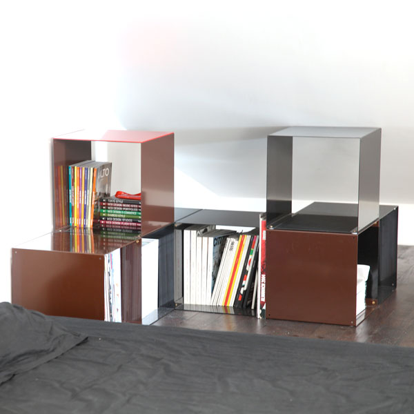 biblioth ques design tag res modulables cubes de rangement quad35. Black Bedroom Furniture Sets. Home Design Ideas