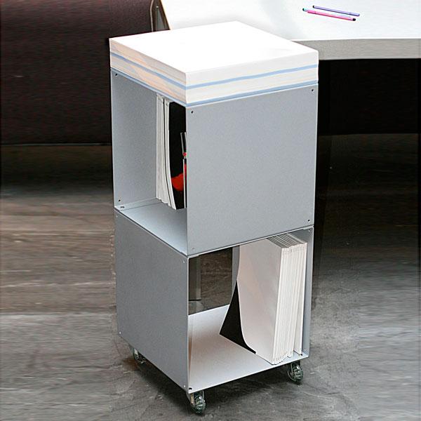 Biblioth ques design tag res modulables cubes de rangement quad35 - Cube metallique rangement ...